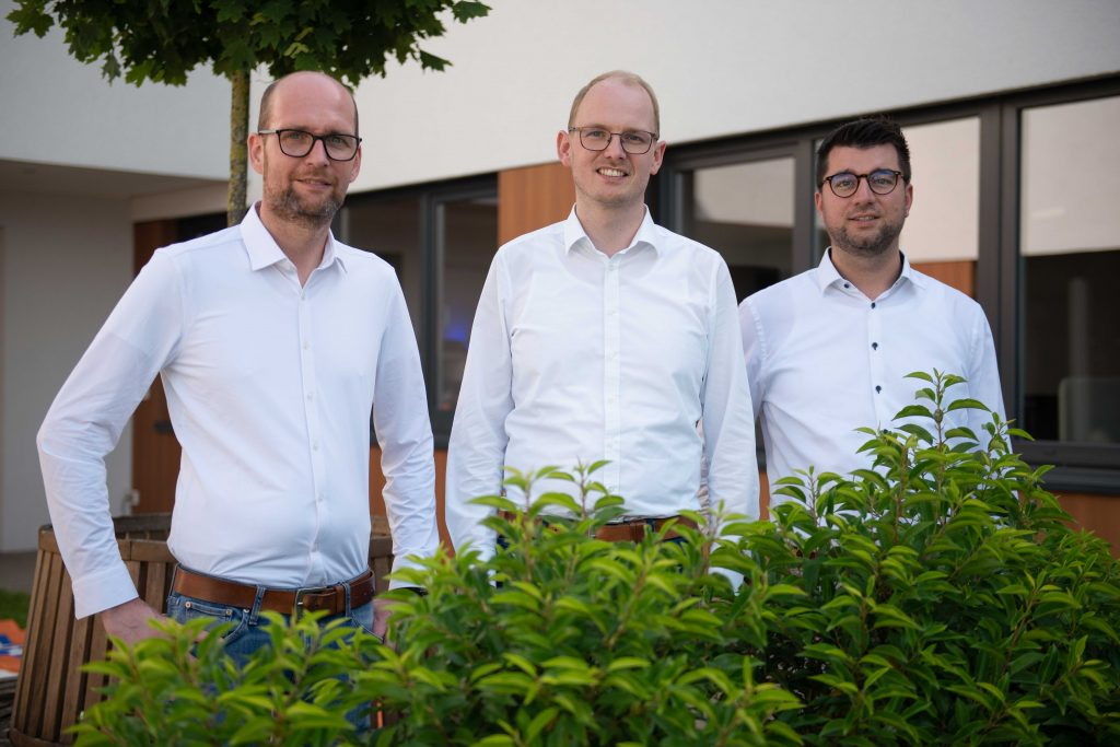 Geschäftsleitung der epcan GmbH: Christian Meiners, Gerd Gevering, Nils Waning