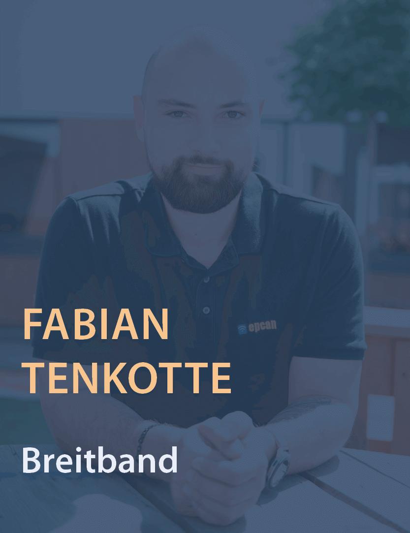 Mitarbeiterfoto Fabian Tenkotte