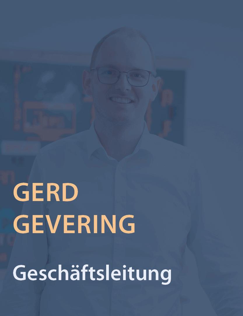 Geschäftsführer und Gesellschafter der epcan GmbH Ger Gevering
