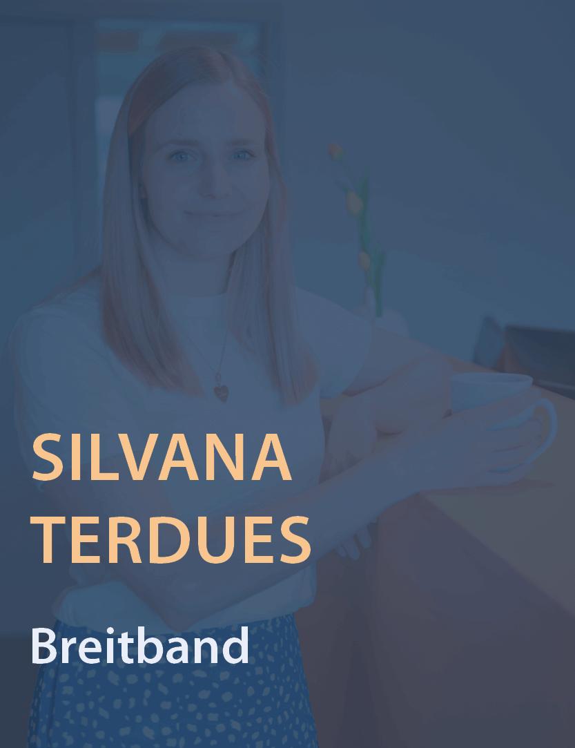 Mitarbeiterinfoto Silvana Terdues