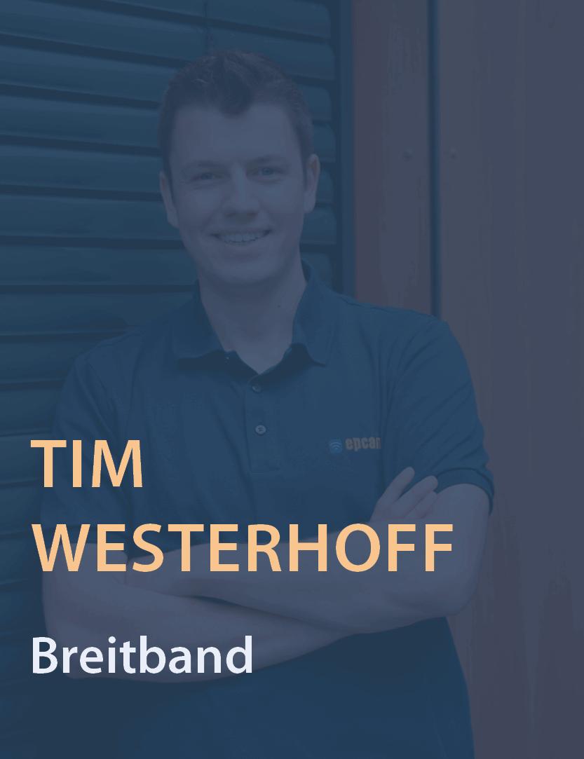 Mitarbeiterfoto Tim Westerhoff