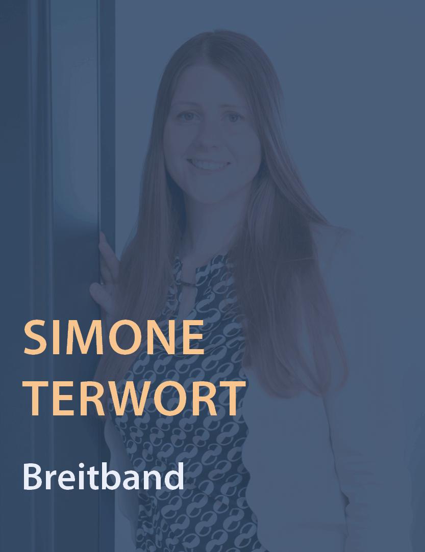 Mitarbeiterinfoto Simone Terwort