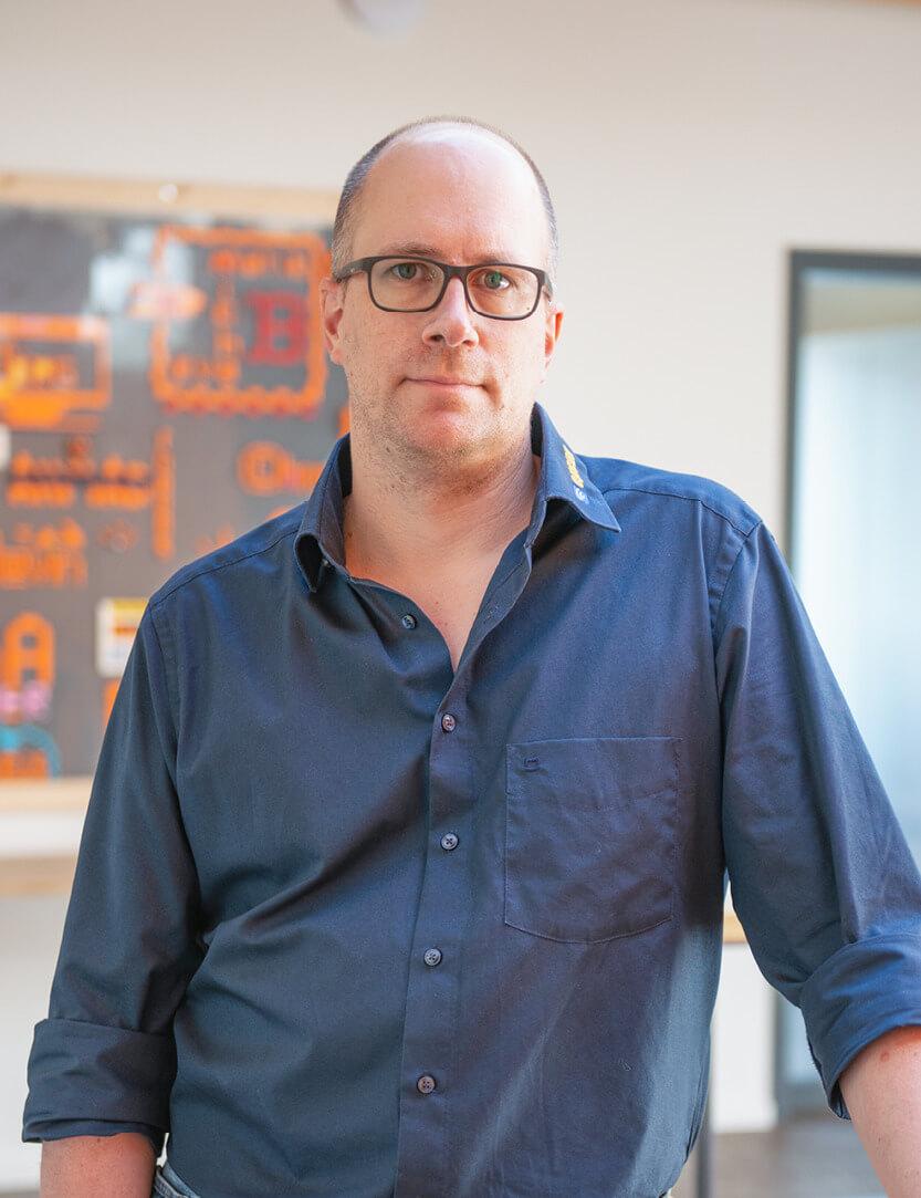 Mitarbeiterfoto Christoph Kriege