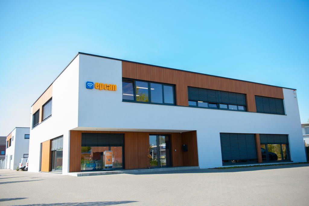 epcan Firmengebäude von Vorne