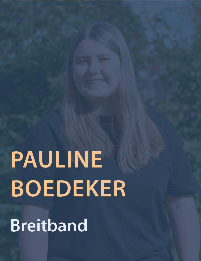 Mitarbeiterinfoto Pauline Boedeker